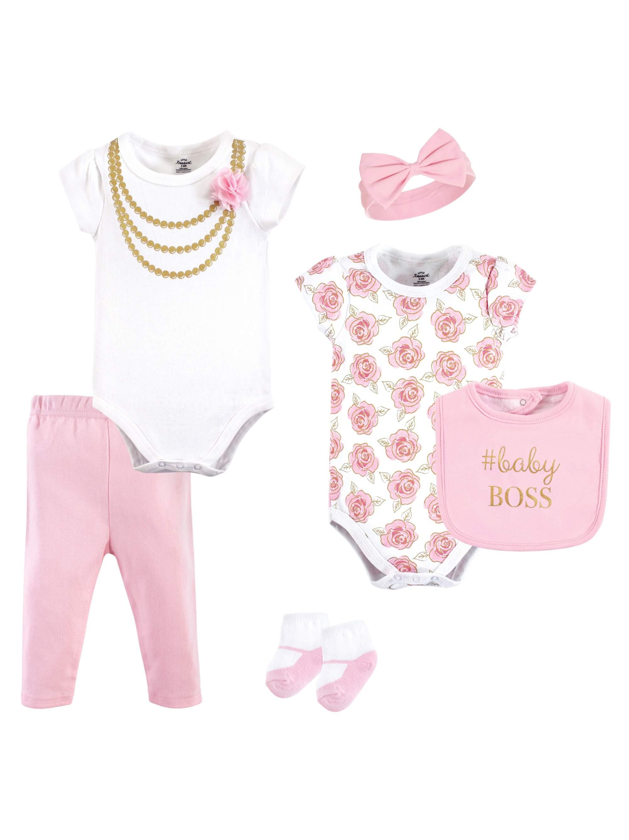 Layette Set 6pc (Baby Girls)