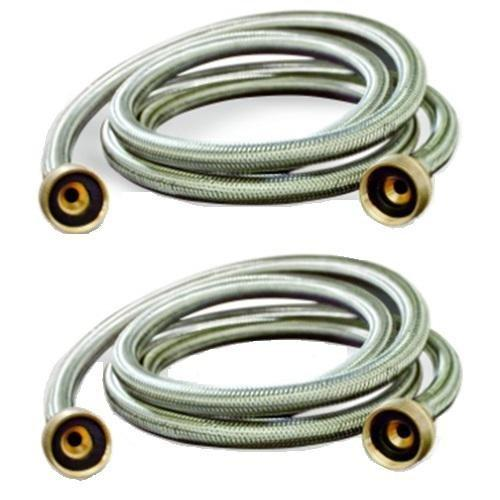 10 ft stainless steel washing machine hoses