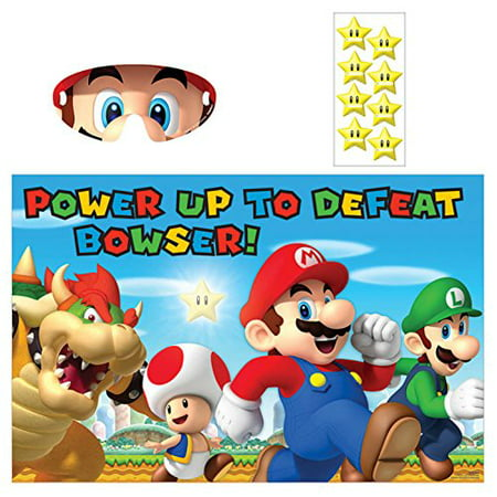 Super Mario Party Game for 2-8 Players - Mario Birthday Party