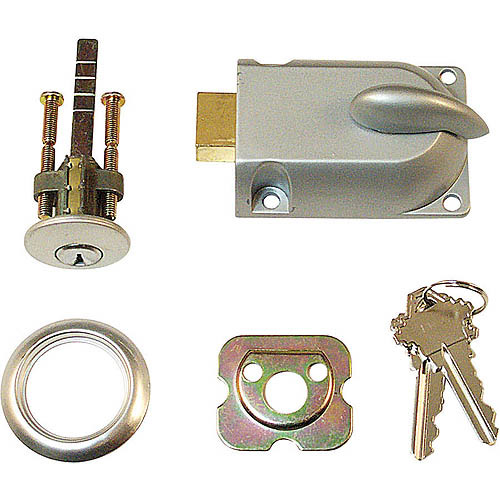 Prime Line Products GD52119 Center Dead Lock with Key Cylinder