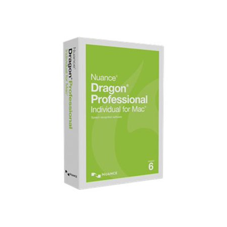 Dragon Professional Individual for Mac, v6 - Mac (Dragon Dictate 3 For Mac)