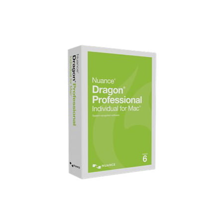Dragon Professional Individual for Mac, v6 - Mac