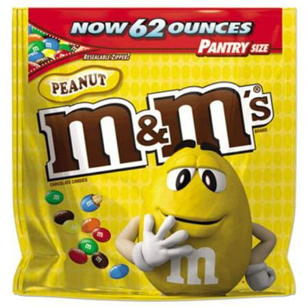 - Mars Drinks 1207596 Milk Chocolate Coated Candy W/peanut Center, 62 Oz Bag