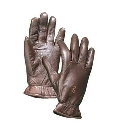 Bob Allen 313 Premier Insulated Leather Gloves, Brown, 2XL