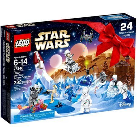 LEGO Star Wars 75146 Advent Calendar, Features 8 Minifigures And A Battle Droid ()