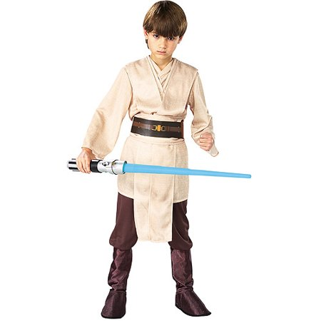Boy's Deluxe Jedi Knight Halloween Costume - Star Wars Classic Jedi Knight Cloak