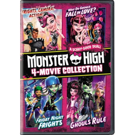 Monster High 4-Movie Collection (DVD) (Monster High Collection For Sale)