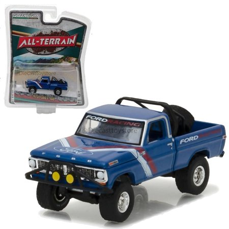 New 1:64 ALL-TERRAIN SERIES 5 COLLECTION - BLUE 1970 FORD F-100 Diecast Model Car By, Greenlight 1:64 all-terrain series 5 By Greenlight From