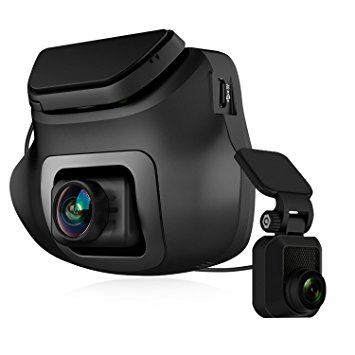 Z-EDGE S3 Dual Ultra HD 1440P Front & 1080P Rear 150 Degree Wide Angle Dual Lens Dash Cam.Dashboard Camera with G-Sensor, WDR, 16GB card included