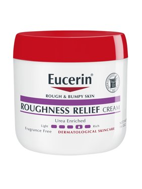 Eucerin Roughness Relief Cream, Body Lotion For Rough and Bumpy Skin, 16 Oz.