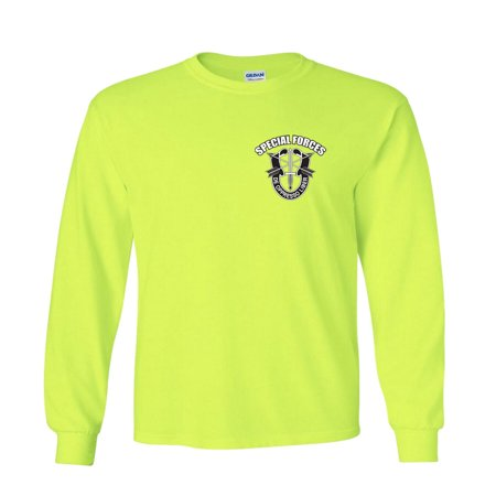 - Army Special Forces Long Sleeve T-Shirt De Oppresso Liber