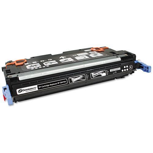 DataProducts Black Toner Cartridge - Black - Laser - 6000 Page - Each - Remanufactured