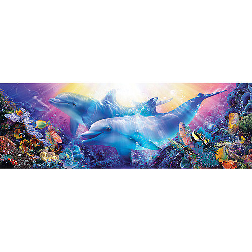 Masterpieces Jigsaw Puzzle Panoramic Collection, Believe The Dream, 1000-pieces