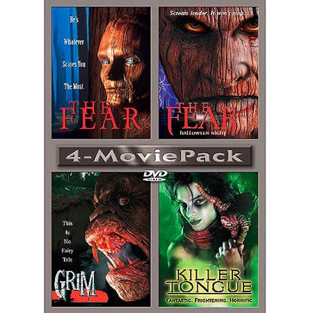 4-Movie Pack: The Fear / The Fear: Halloween Night / Grim / Killer Tongue - Halloween Fear Factor
