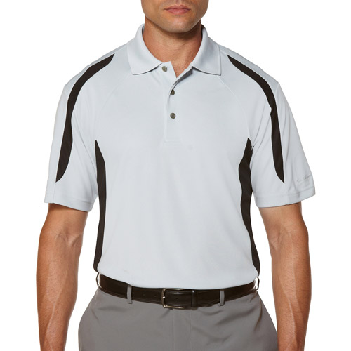 Ben Hogan Men's Short Sleeve 2Color Block Polo