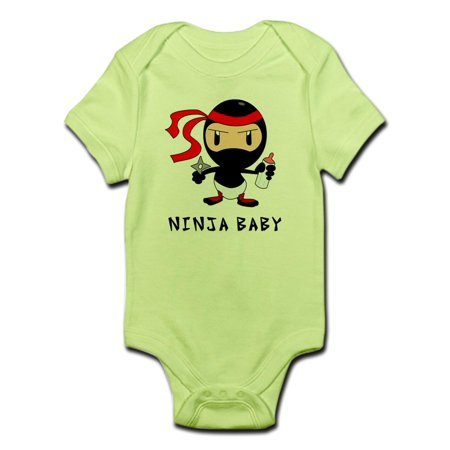 Cafepress   Ninja Baby Onesie   Baby Light Bodysuit