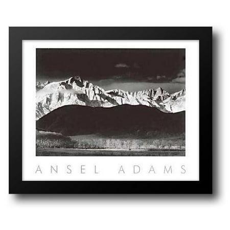 Winter Sunrise 34x28 Framed Art Print by Adams, Ansel - Winter Frames