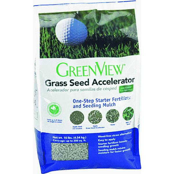 GreenView Seed Accelerator Starter Fertilizer & Seeding Mulch