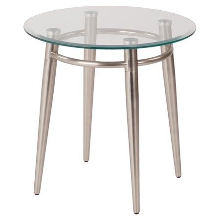 Work Smart/Ave Six Brooklyn Round Top End Table