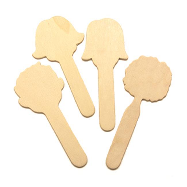 Chenille Kraft Company CK-3621 Wood Craft Sticks Faces - image 1 of 1