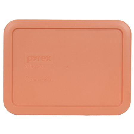 Pyrex Replacement Lid 7210-PC 3-Cup Bahama Sunset Rectangle Cover for Pyrex 7210 Dish (Sold Separately)
