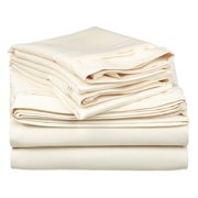 Superior 650 Thread Count Egyptian Cotton Solid Sheet Set