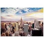 Modern Home Ultra High Resolution Tempered Glass Wall Art - New York Skyline World Trade Center 1