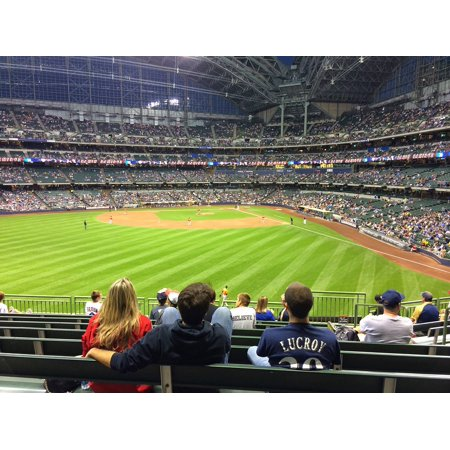 Stadium Stand (LAMINATED POSTER Stadium Baseball Fans Field Stands Poster Print 24 x)