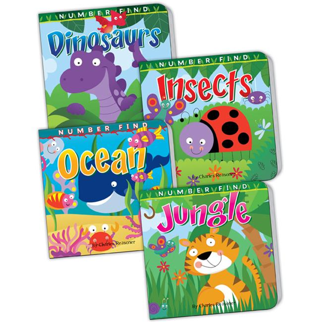 Teacher Created Resources 418778 Number Find Board Book Set (set of 4)