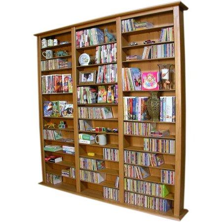 Rebrilliant Large Triple Multimedia Storage Rack