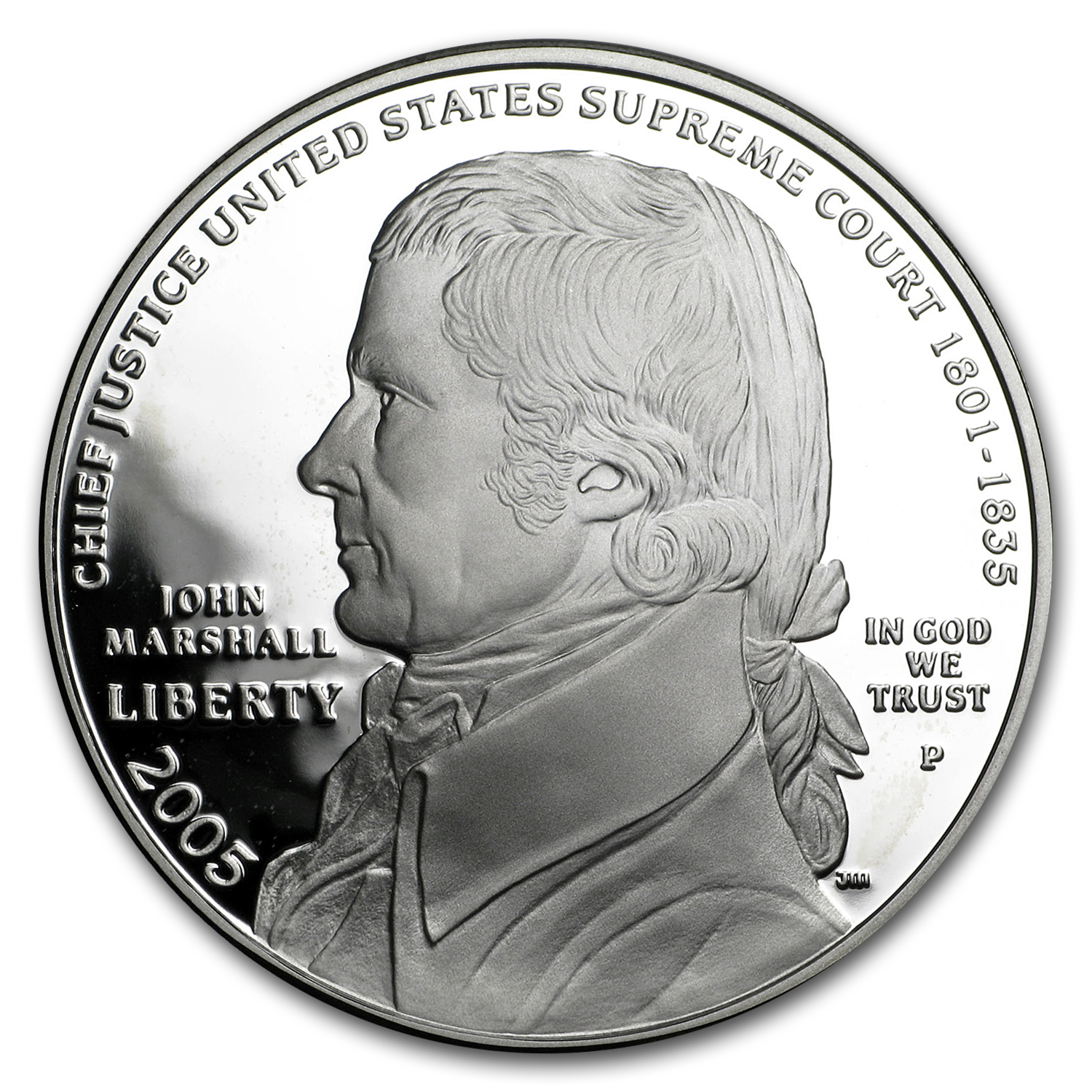 2005-P Chief Justice Marshall $1 Silver Commem Proof (Capsule)