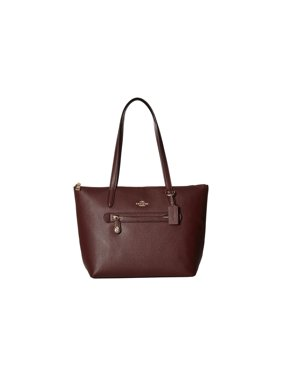 Product Image coach women s pebbled taylor tote sv peony handbag c17db3a940865