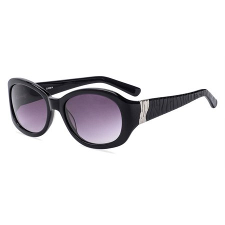Contour Womens Prescription Sunglasses, FM13011 Black ()