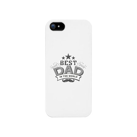 Best Dad In The World White Phone Case (Best Phone In The World)