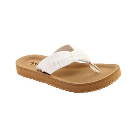 Portland Boot Company Women's Nola Knot Thong Sandal