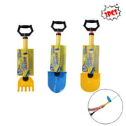 3PCS Children's Summer Beach Toys Children's Large Sprinkler Sand Shovel Set
