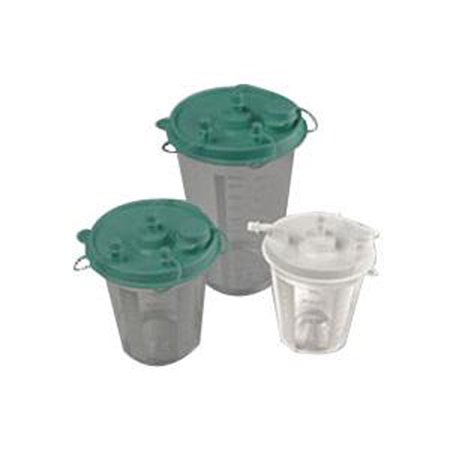 Image of Allied Healthcare Inc Suction Canister 800cc, Plastic-1 Each