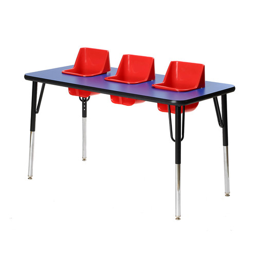 Toddler Tables Kid's 4 Piece Activity Table and Chair Set