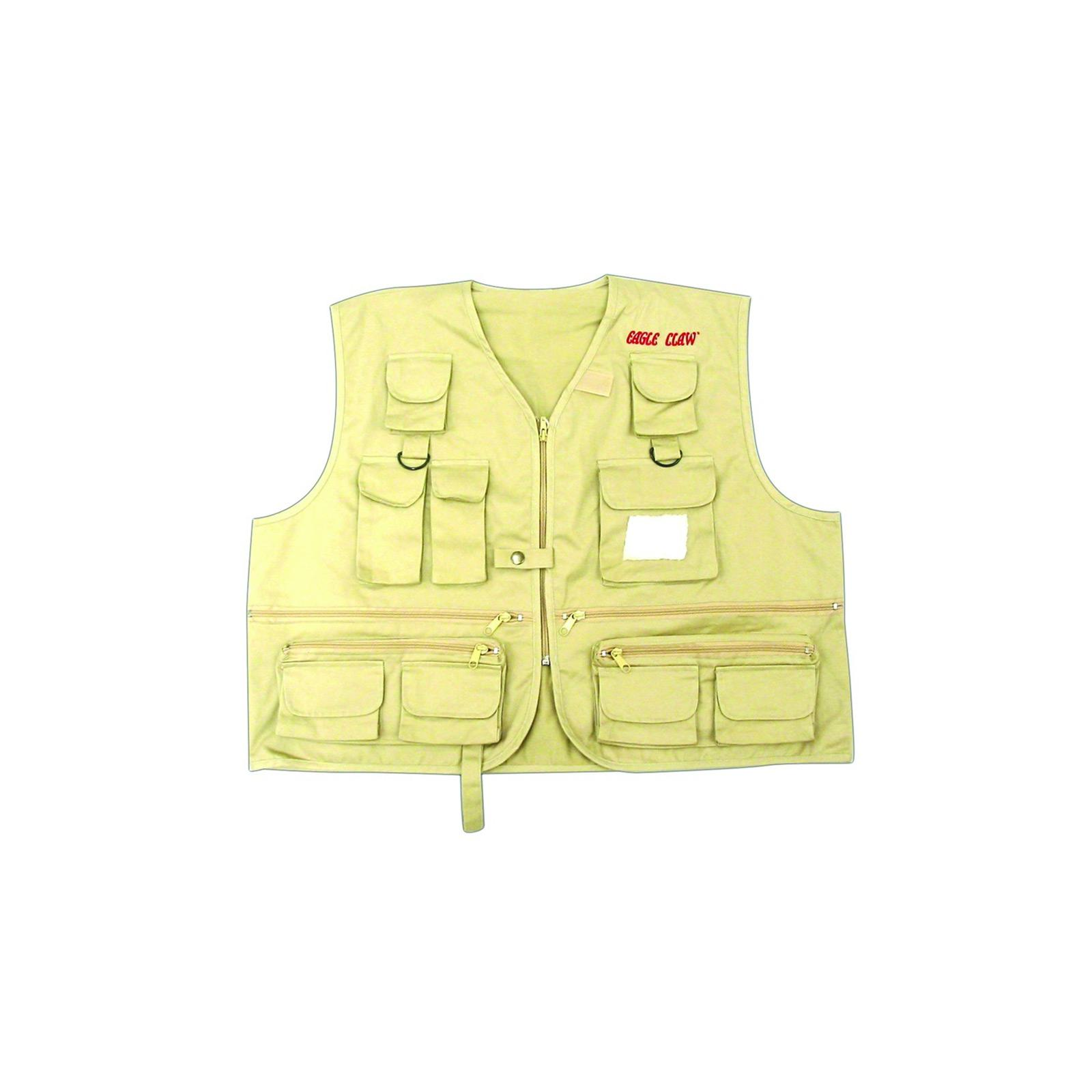 Eagle Claw Eagle Claw Fishing Vest Adult Xxlg FVA-2XL by Eagle Claw