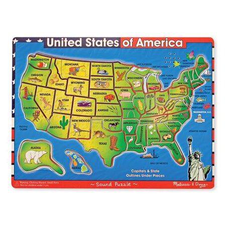 Usa Sound Puzzle - Usa Puzzle Map