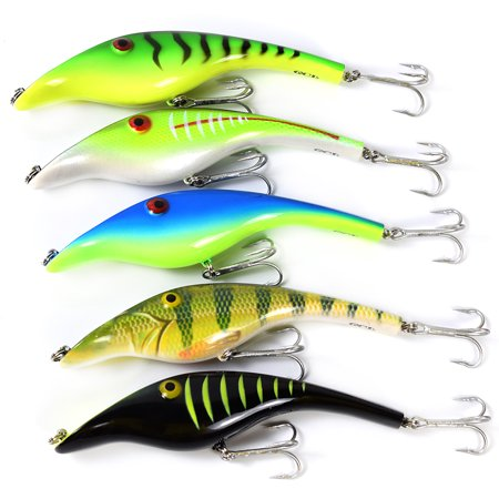 5.5in / 1.5oz Bionic Fishing Lure Hard Body Sinking Bait Fishing Bass Lure Fishing Lure Artificial Bait Lifelike Crankbait Hooks Fishing Tackle - image 2 of 7