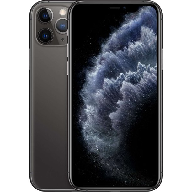 Straight Talk Apple iPhone 11 Pro Prepaid with 64G, Space Gray