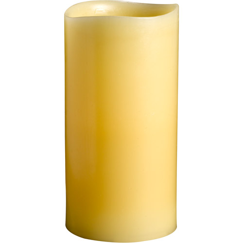 3x6 Beeswax Smooth 1 Led Scented Wax Can