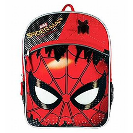 Marvel Spider-Man Homecoming Comic Book Movie Superhero Spiderman Backpack - Comic Book Superhero