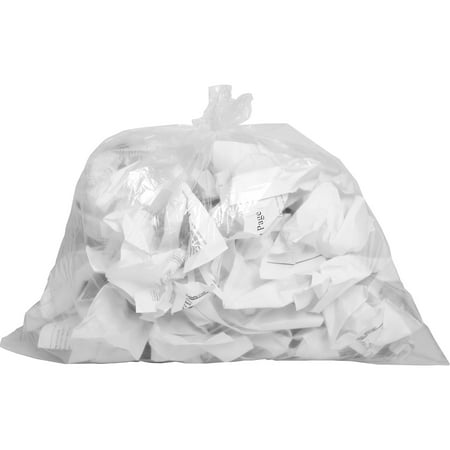 Genuine Joe, GJO01010, Clear Trash Can Liners, 500 / Box, Clear