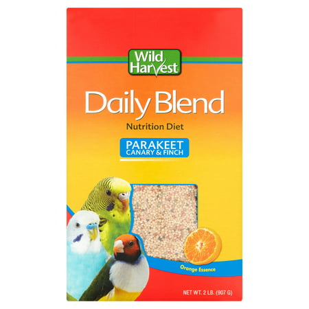 Breeders Blend ((3 Pack) Wild Harvest Daily Blend for Parakeet, Canary & Finch, 2 lb)
