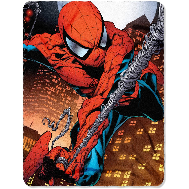 "Marvel's Spider-Man ""Web Swing"" 45"" x 60"" Fleece Throw"