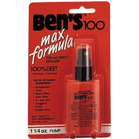 Bens 100 Pump - Bens 100: Insect Repellent Spray Pump