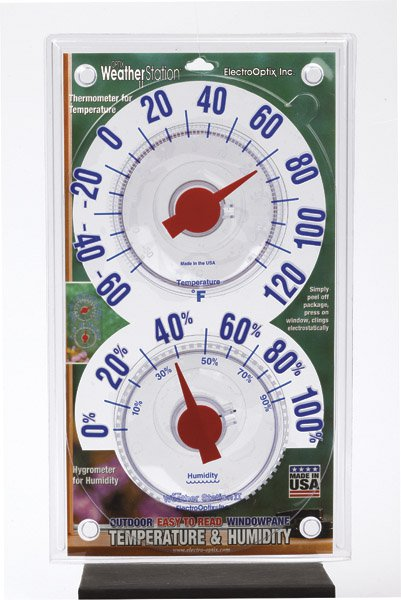 "Electrooptix WS-II Outdoor Weather Station 10-3 4"" x 6\ by Optix"
