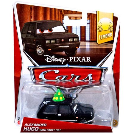 Disney Cars Mainline Alexander Hugo with Party Hat Diecast Car